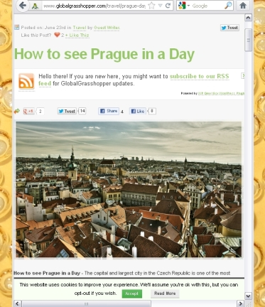 Prague via Global Grasshopper