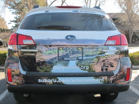 Geological Society of America Subaru with wrap image by keagiles