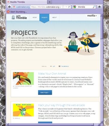 Mozilla Thimble