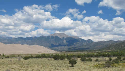 Mount Herard and the Great Sand Dunes Colorado