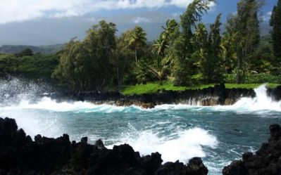Keanae Coast by Martin Mergili