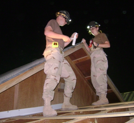 Seabees in Iraq