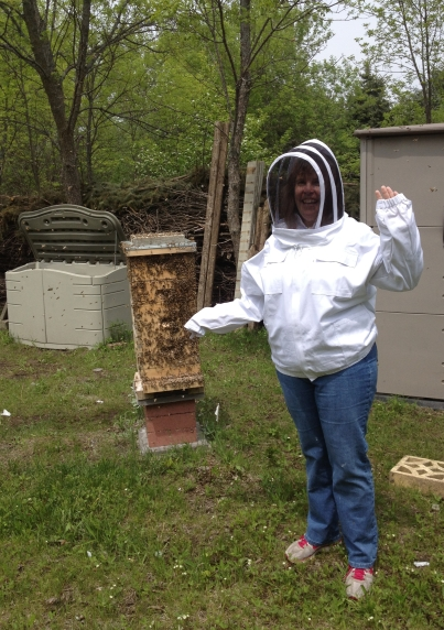 Me with bees