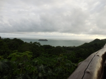 Our favorite restaurant near Manuel Antonio was El Avion. This is the view from our table. No wonder we went there three times in 5 days!