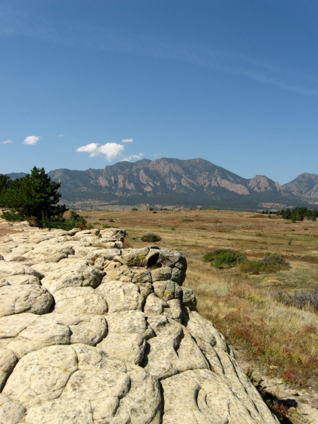 South Boulder Peak from Marshall Mesa, Boulder County, Colorado, USA. Photo by keagiles.